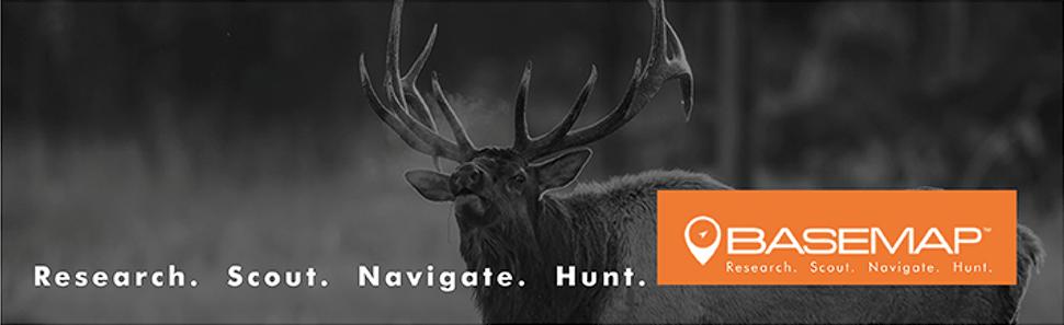 Basemap- Research, Scout, Navigate, Hunt