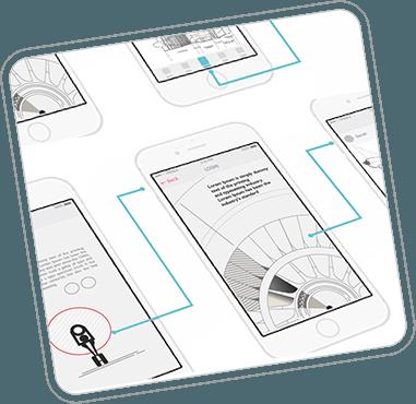 Prototype - Application Wireframes
