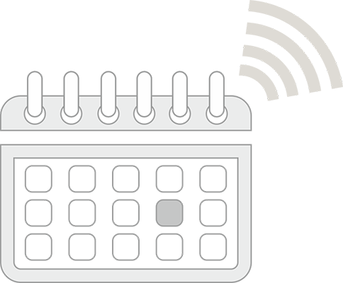 Set auto reminders for important dates