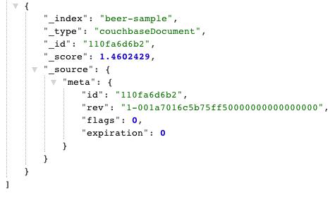 Elasticsearch Schema-free