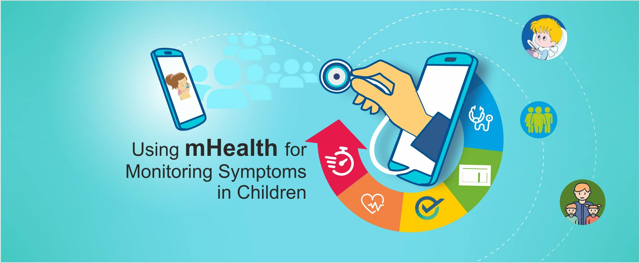 mHealth for Monitoring Symptoms in Children