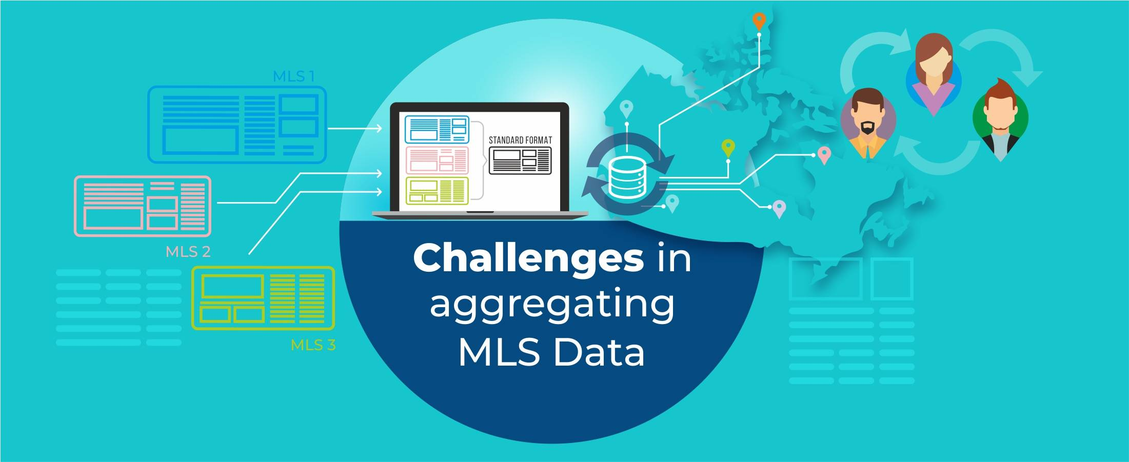 Challenges in Aggregating MLS Data